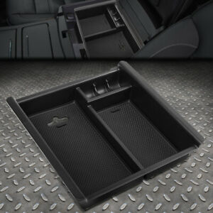 For 16 18 Toyota Tacoma Center Console Organizer Insert Tray Armrest Storage Box