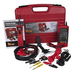 Power Probe Professional Testing Electrical Kit Pprokit01 Brand New