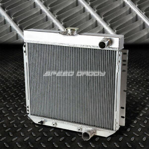 For 63 70 Fairlane Falcon Galaxie Sedan V8 3 Row Core Aluminum Racing Radiator