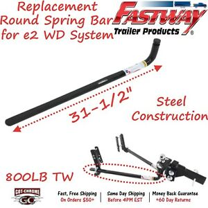 94 02 0899 Fastway Trailer E2 Weight Distribution Hitch Round Bar With 800lb Tw