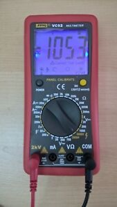 New Digital 2kv 2000v Ac dc High Voltage Multimeter Voltmeter Tester