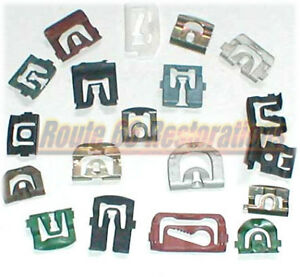 1961 1962 Cadillac Deville Windshield Moulding Clips 61 62 New Guaranteed