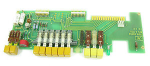 Hewlett Packard 7015b X y Plotter Repair Part Pcb 07015 60350 W Switches