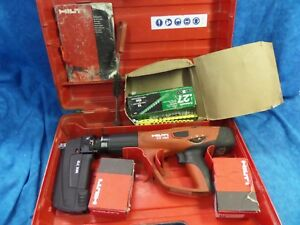 Hilti Dx 460 Mx 72 Fully Automatic Powder Actuated Tool W Fasteners