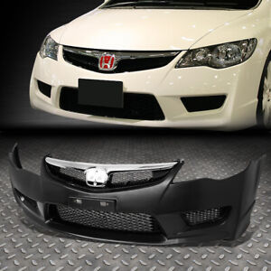 For 06 11 Honda Civic 4dr Sedan Jdm Fd2 Type r Conversion Front Bumper W mesh