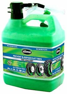 1 Gallon Motorbike Slime Tire Sealant Durable Sealer For Multiple Punctures