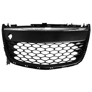 Front Bumper Cover Grille Made Of Plastic Fits 2010 2012 Mazda Cx7 104 50959a