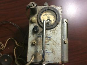 Model 107b Professional Geiger Counter Precision Radiation Instruments W tubes