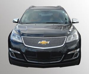 2013 2017 Chevrolet Traverse Chrome Grille Cover Overlay