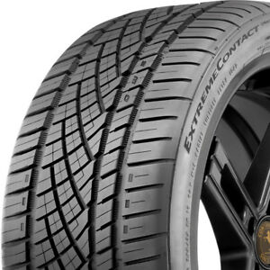 2 New 255 40 17 Continental Extremecontact Dws06 A s Performance 560aaa Tires