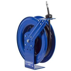 Coxreels Mp n 450 1 2 inch X 50 foot Air water oil Spring Rewind Hose Reel