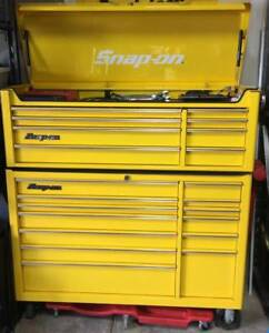 Snap On Kra Series Toolbox Chest And Roll Cab Yellow