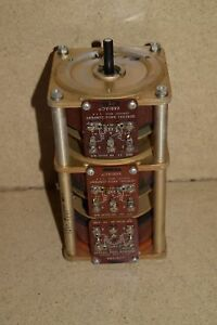 General Radio M5 Variac Autotransformer Stack Of Three g7