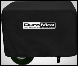 Duromax Generator Cover Nylon Black Outdoor Sun Rain Dirt Protection Accessory