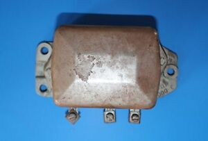 1957 1958 1959 1960 61 1962 Corvette Fuel Injection 1119000 C Voltage Regulator