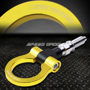 7 M15 8xp3 175 Gold Front rear Tow Hook Ring 97 06 Bmw 3 5 7 Series 03 14 Mini