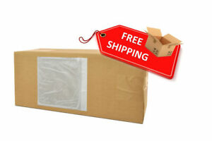 Clear Packing List 4 5 X 5 5 Plain Face Shipping Mailing Envelope 3000 Pieces