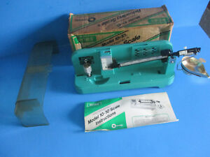 RCBS RELOADING SCALE MODEL 10.10 WBOX & INSTRUCTIONS PRECISIONEERED GUC