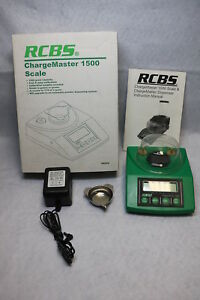 RCBS Chargemaster 1500 Electronic Reloading Scale Powder Measurer 98920 NR .99