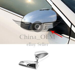 For 2013 2017 Toyota Venza Chrome Mirror Covers