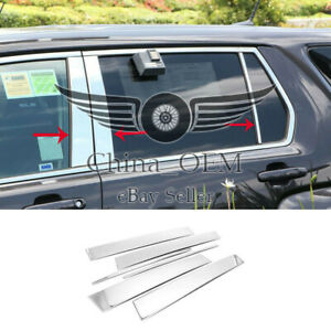 For 2010 2011 2012 2013 2014 2017 Gmc Terrain 6pcs Stainless Steel Pillar Post