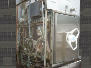 Amsco Sterilizer Cabinet With Cart And Shelf Assembly