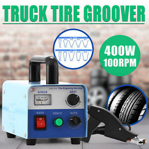400w Truck Tire Grooving Blades Groover Iron Consistent Siper Kit Automatic