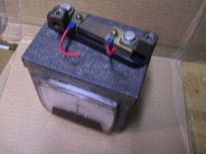 Simpson 254 150a Dc Spindle Current Meter W enclosure And 06503 Shunt P2577