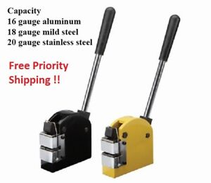 Hd Sheet Steel Aluminum Metal Metalworking Fabrication Shrinker Stretcher Tool