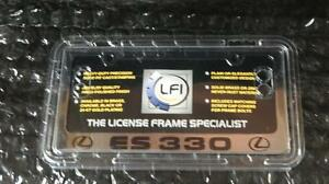 New Lexus Chrome Lfi Es330 License Plate Frame Fits All Years
