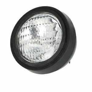 Sealed Beam Headlight Assembly 12v Round Rear Stud Mount Compatible With