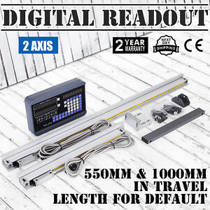 2 Axis Digital Readout Dro W 2 Linear Scale Inclined Plane Digital Filtering