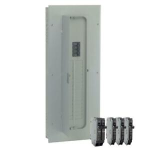 200 Amp 32 space 40 circuit Indoor Main Breaker Panel Box Load Center Value Kit