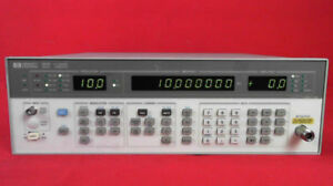 Hp Agilent Keysight 8657b Synthesized Signal Generator 100 Khz 2060 Mhz