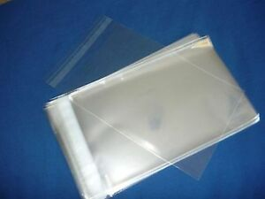 1000 9x12 Self Seal Flap Tape Clear Poly Bags Polypropylene Opp Bags 1 5 Mil