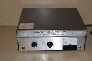 Heat Systems Ultrasonics Inc Sonifier Cell Disruptor Model W185