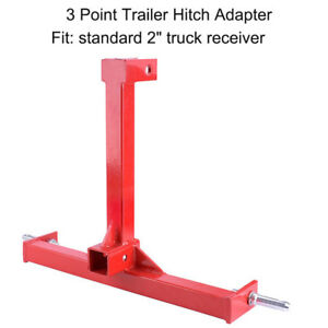 Three Point Attachment Cat 1 Drawbar 3 Point Tractor Trailer Hitch Receiver Us