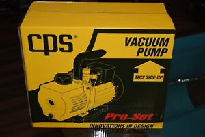 Cps Pro set Vp6d 2 stage Dual Voltage Vacuum Pump 6cfm