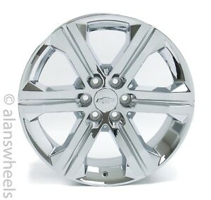New Chevy Suburban Tahoe Factory Oem 22 Chrome Wheels Rims Lugs Free Ship Ck157