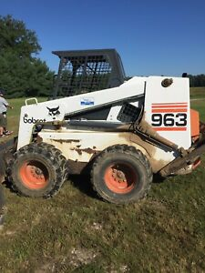 For Sale A 963 Bobcat With A Seven And A Half Foot Bucket Scarfire And Forks