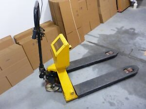 Pallet Jack With Built In Scale 4400 Lb X 1 Lb Must Pickup In Connecticut