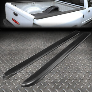 For 94 04 Chevy S10 6ft Fleetside Pair Truck Bed Side Rail Molding Cap Protector
