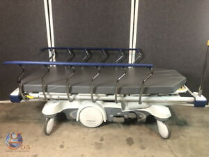 Stryker Big Wheel 1115 Glideaway Prime Series Pacu Stretcher Gurney W New Pad