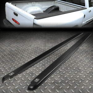 For 02 09 Dodge Ram 6 5ft Fleetside Pair Truck Bed Side Rail Molding Cap W holes