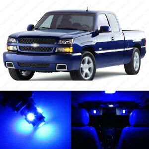 13 X Blue Led Interior Light Package For 1999 2006 Chevy Silverado Pry Tool