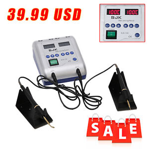 Dental Lab Electric Waxer Carving Knife Machine 2 Heated Pen 6 Wax Tips B1 Type