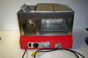 Vintage Star Commercial Grade Hot Dog Bun Steamer Model 35s