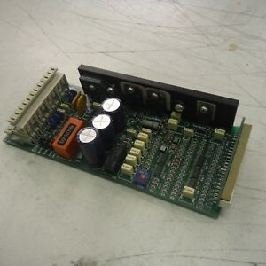 Gema Pgc 1 Circuir Board Reconditioned With A One Year Warranty
