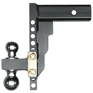 17205 Husky Liners Adjustable Trailer Hitch Ball Mount 10 Drop With 2 5 Shank