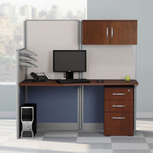 Bush Business Furniture Office In An Hour 65w X 33d Cubicle Workstation In